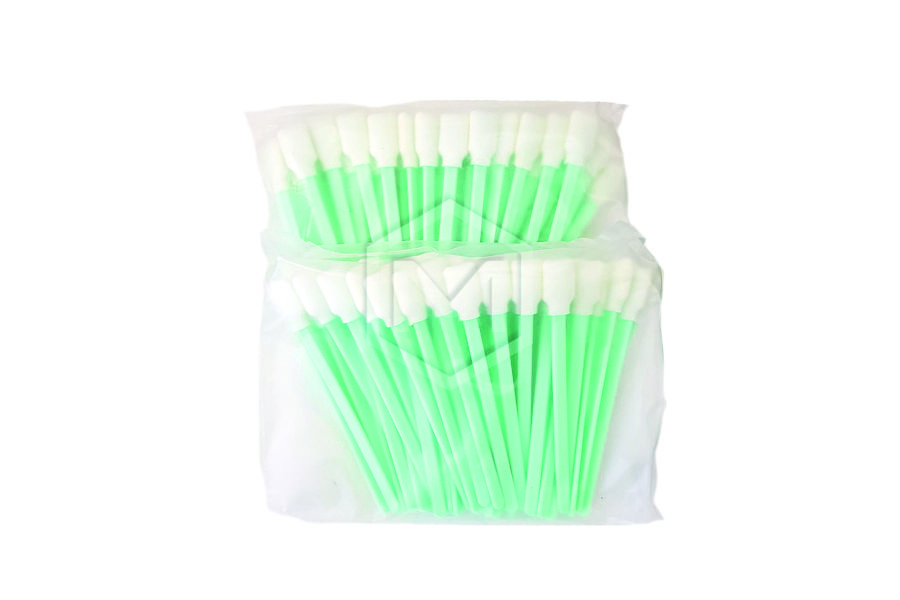 Bastoncillos de fibra para limpieza de impresoras