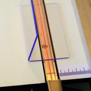 Dobladora de una línea térmica