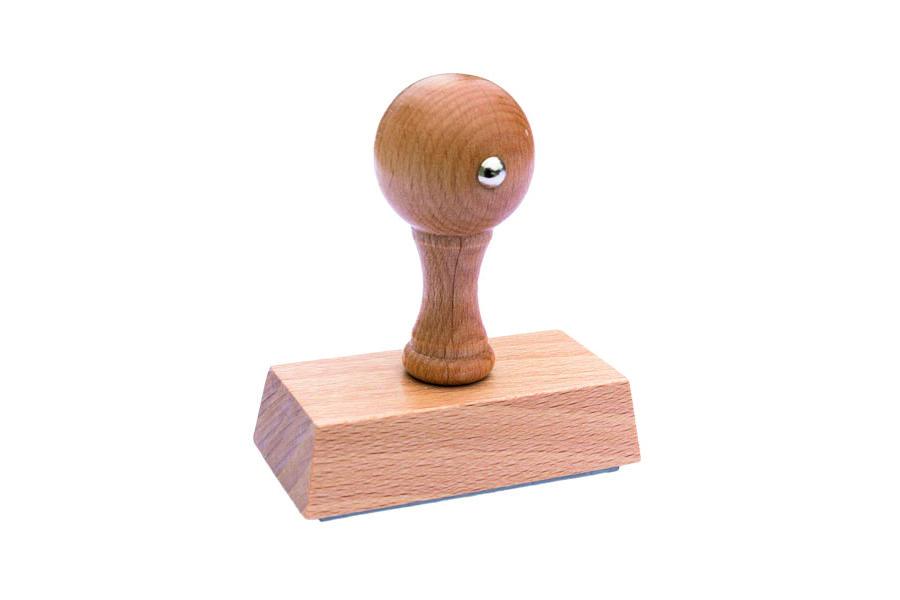 Sellos clásicos de madera – Rectangulares