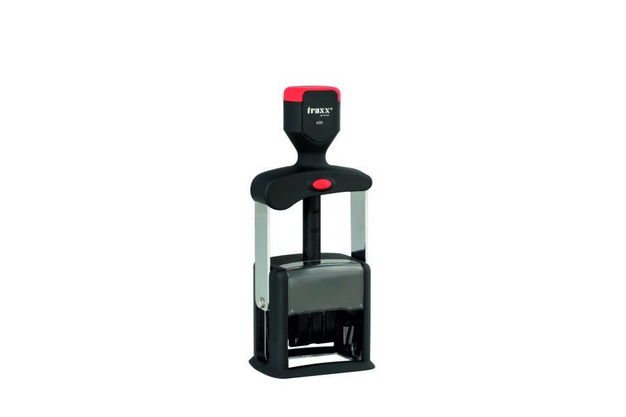 Sello Metálico automático TRAXX JF630