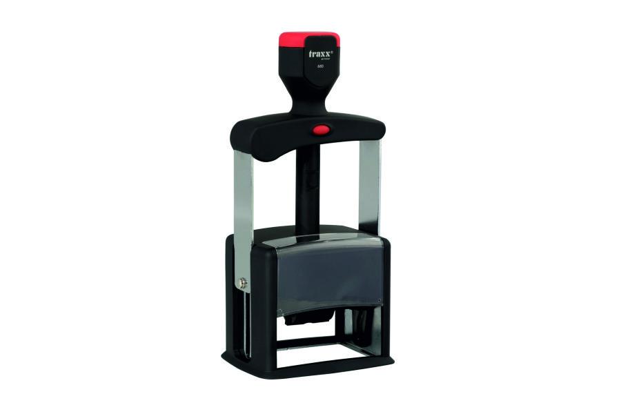Sello Metálico automático TRAXX JF680