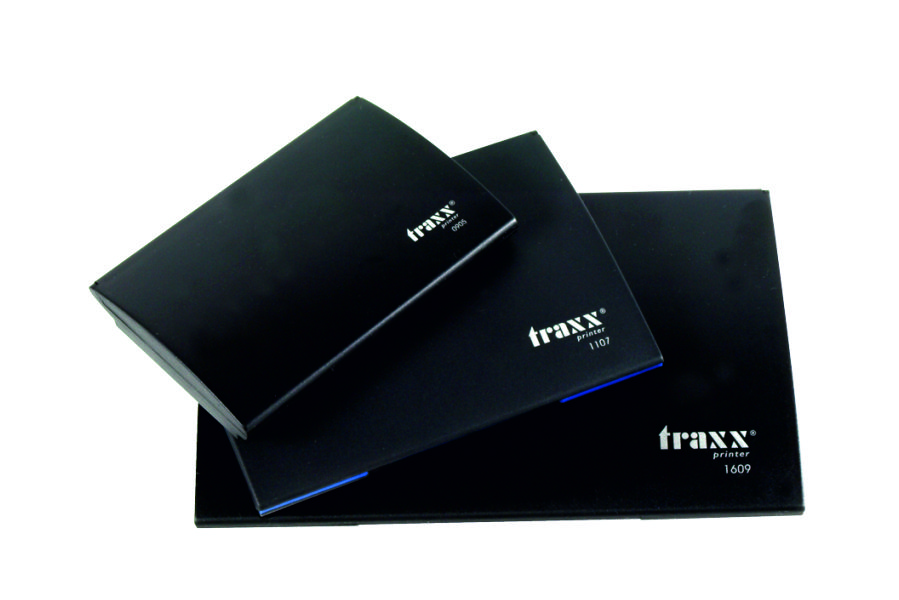 Tampón entintado Deluxe TRAXX RP0905