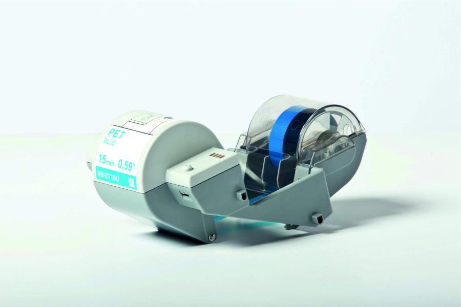 Cinta de transferencia térmica (Ribbon) azul para cinta adhesiva