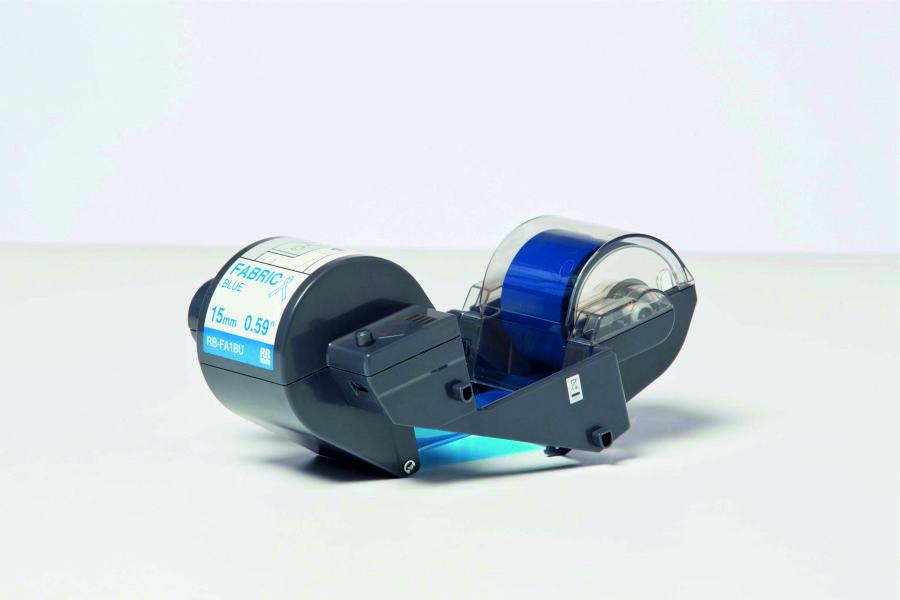 Cinta de transferencia térmica (Ribbon) azul para cinta textil
