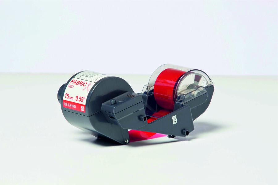 Cinta de transferencia térmica (Ribbon) roja para cinta textil