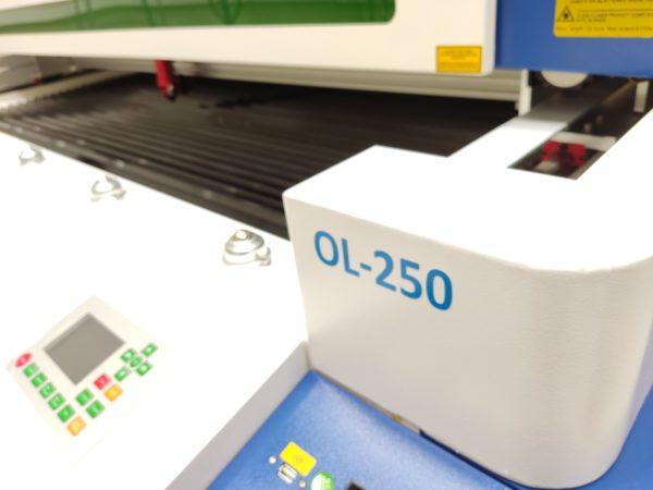 Ovili láser flatbed CO2 - OL-250 modelo