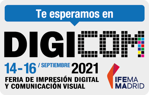 Feria DIGICOM de impresión digital y comunicación audiovisual